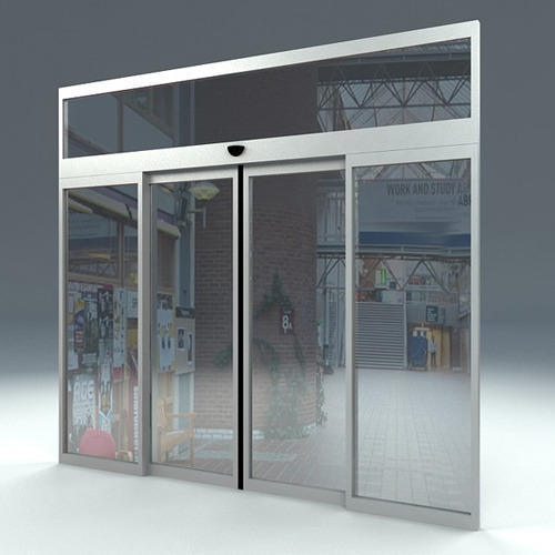 Automatic sliding glass doors in qatar