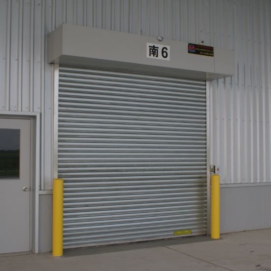 Fire rated roll up shutter in qatar